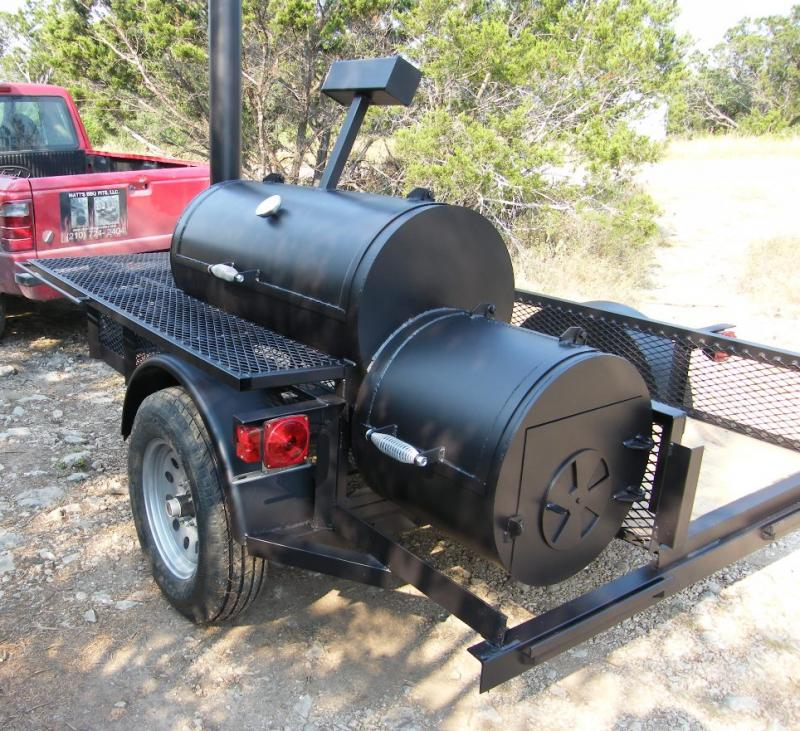 Jumbo Firebox Trailer