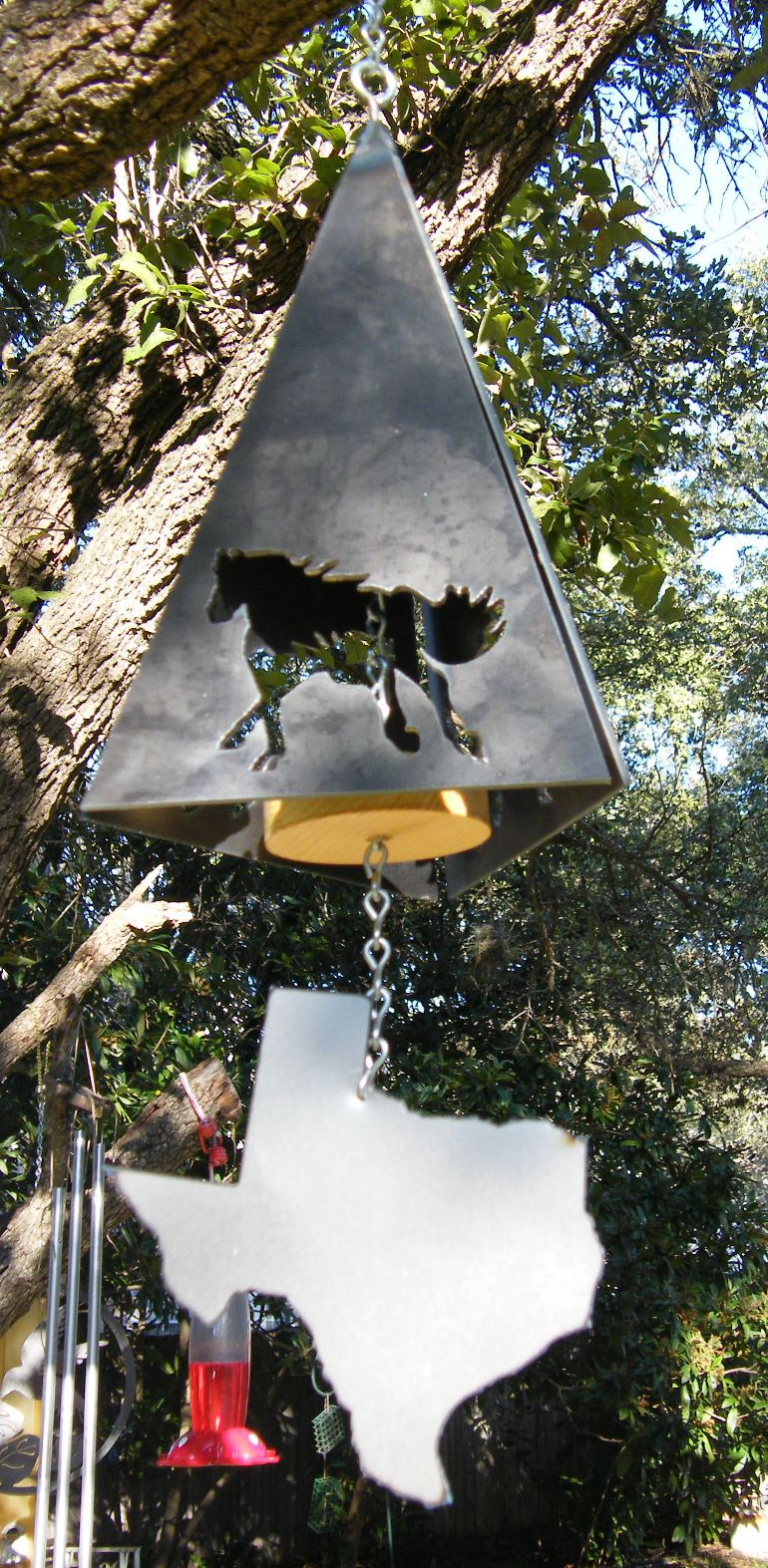 Horse Wind Chime 1