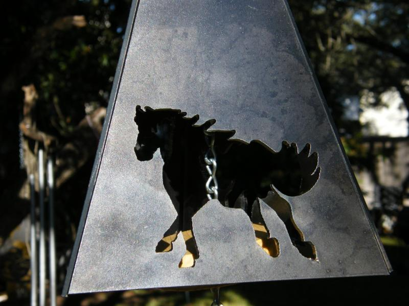 horse Wind Chime 2