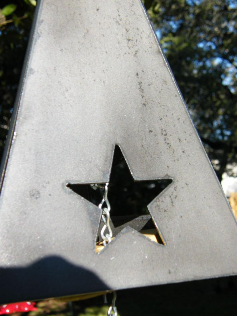 Texas Wind Chime Star