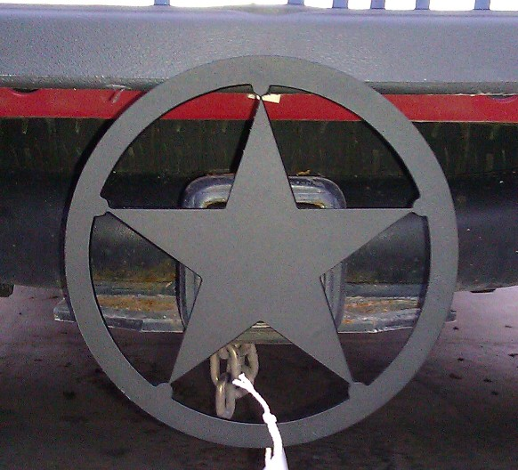 hitch cover lone star