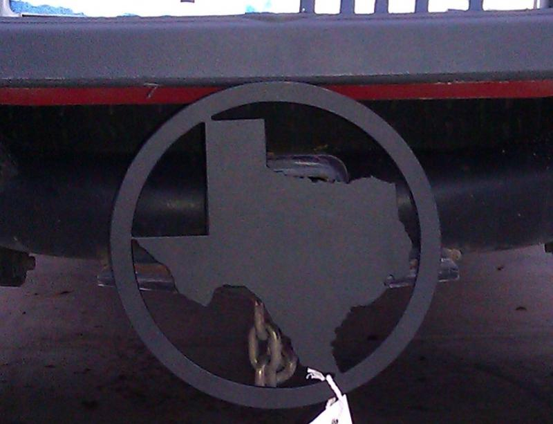 hitch cover texas